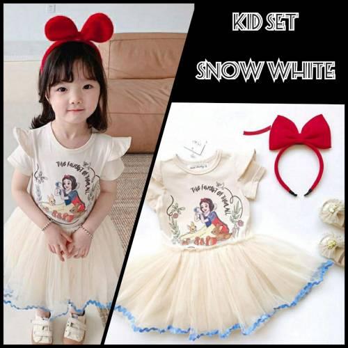 KID SET SNOW WHITE