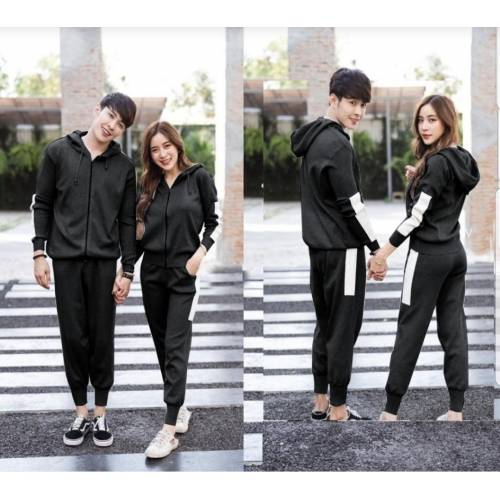 St Basic Couple Hitam