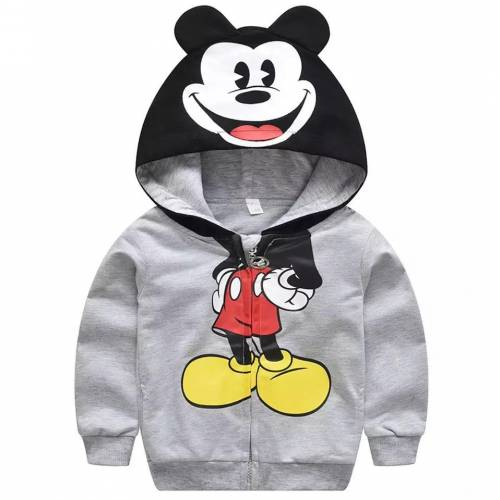jaket mickey kid grey