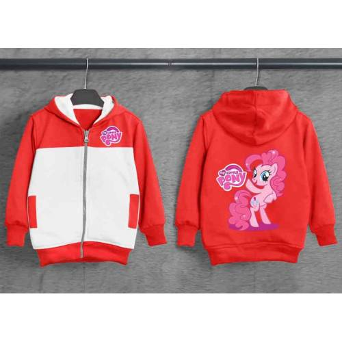Jaket Kid Pony Merah