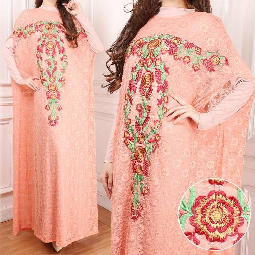 1 Set Kaftan Alnisa+Manset Salem