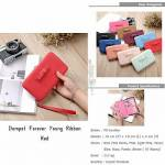 Dompet Forever Young Red
