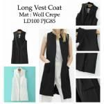 long vest coat RO