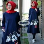 TUNIK MICKEY NAVY