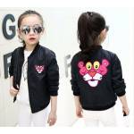 kid bomber panther hitam