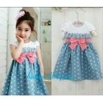 dress Pingkan kids blue