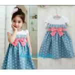 dress Pingkan kids blue..