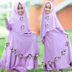 Syari Anak Najwa Lavender