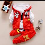 St kids M red combi