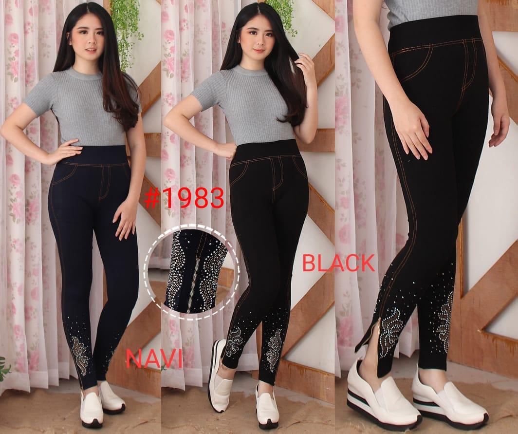 Legging Import Denim 1983 Fashionista Grosir